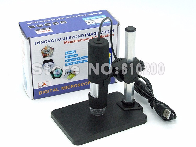 Free shipping the Newest USB Digital Microscope 50X- 1000X 2MP Endoscope Electronic Magnifier Camera with holder stand 8LED free shipping portable digital usb microscope endoscope magnifier 1000x 50x 1000x