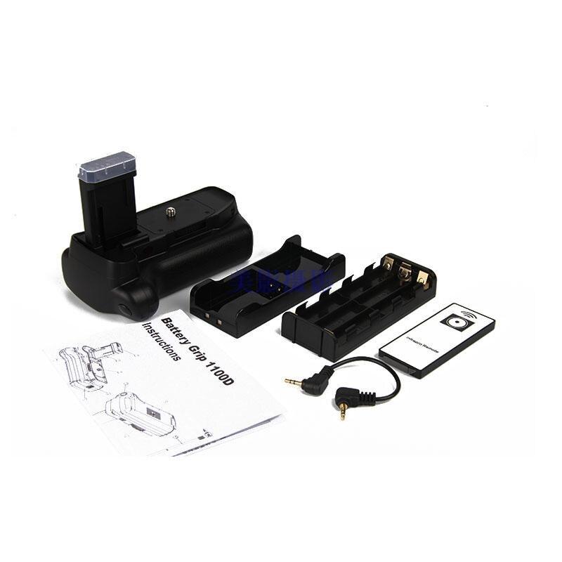 Batterie support de prise en main pour canon 1100d 1200d 1300d Rebelles T3 T5 T6 EOS Kiss X50 DSLR caméra