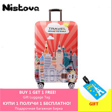 Suitcase-Cover Trolley Cover-Protection Travel-Accessories Luggage New Elastic Thickened