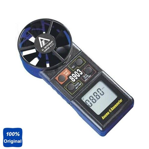 Az8903 цифровой анемометр ветер Скорость метр Диапазон измерения: 0.4-30 м/s, 80 ~ 5900ft/мин