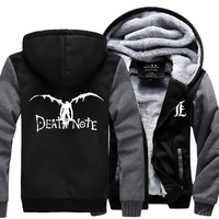 High Q Unisex Death Note L Killer Hoodies Rumia Jacket Death Note L Yagami Light Yagami
