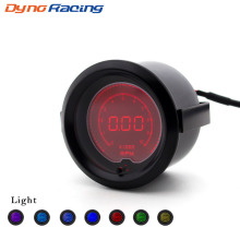 Brand 2 52MM EVO Digital Rpm auto Gauge LCD 0-1000 For Car Meter  Universal Tachometer RPM Auto