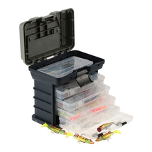 Lixada Fishing Box Sea Boat Fishing Lure Accessory Box Case Utility Box Universal Water Resistant Fishing Tackle Box
