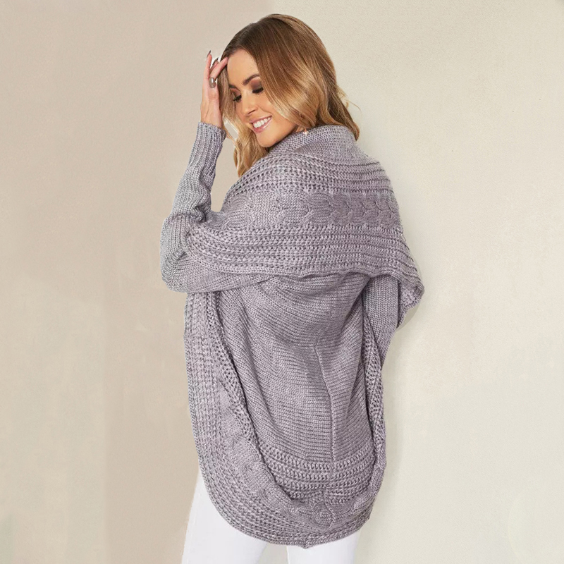 Fashion Winter shrug knitted sweater cardigan Women autumn white cardigan Female turn down collar sweater cardigan 2017 Women