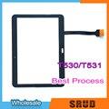 Гарантия ЖК сенсорный дигитайзер стеклянная сенсорная панель для Samsung Galaxy Tab 4 10 1