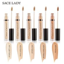 SACE LADY Matte Liquid Concealer 5 Colors Waterproof Full Cover Corretivo Maquiagem Perfecting Face Make Up Corrector