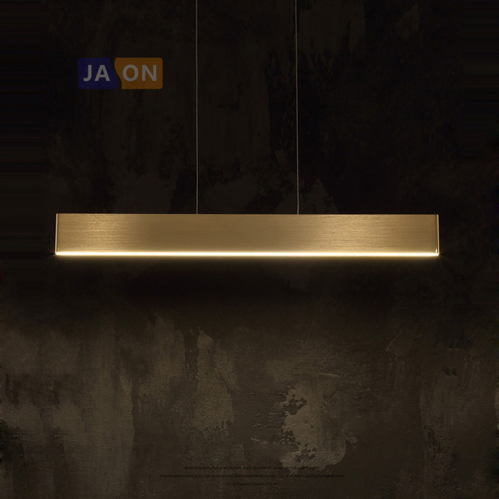LED Nordic Alloy Acryl Chrome Golden LED Lamp LED Light.Pendant Lights.Pendant Lamp.Pendant light For Foyer Dinning Room