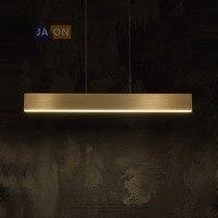 LED Nordic Alloy Acryl Chrome Golden LED Lamp LED Light.Pendant Lights.Pendant Lamp.Pendant light For Foyer Dinning Room
