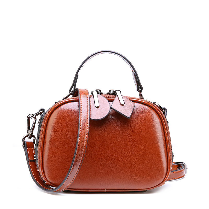Small Red Women 39 s purses and handbags High Quality Mini Female Genuine Leather Messenger Crossbody Bags Cute Lady Shoulder Bags in Shoulder Bags from Luggage amp Bags