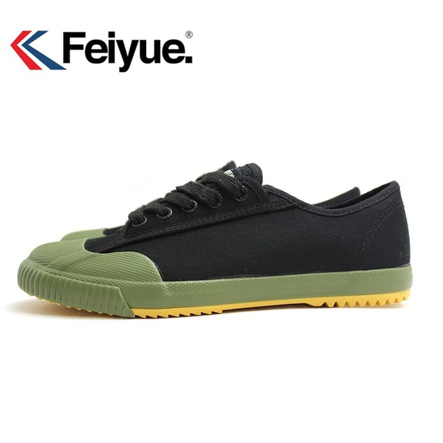 Feiyue shoes new Style Black Sneakers Martial arts women men Kungfu shoes Walking canvas shoes