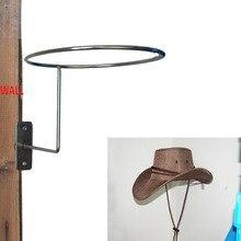 619a6a27ca Vaquero sombrero-Sombrero protector/percha Gancho de soporte, casco de  montar de montaje en pared Metal-Metal
