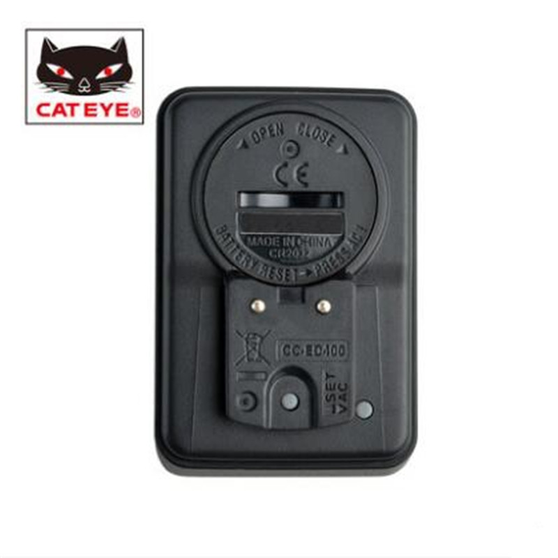 CATEYE CC-ED400 Computer bicycle speedometer wired stopwatch mileage bike accessories