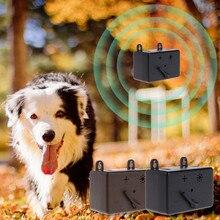 Мини Открытый Отпугиватель для питомцев, собак устройство против лая ультра звуковая собака Контроль кора звуковые сдерживающие инструменты глушители для собак