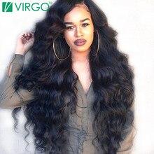Volys Дева бразильские волосы свободная волна 100% Человеческие волосы Weave Связки Волосы Remy 1 шт./лот натуральный Цвет 1B можно купить 3/4 связки (bundle)