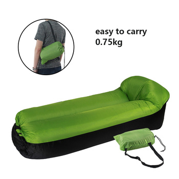 Inflatable Lounger Air Sofa Portable Waterproof Couch for backyard Lakeside Beach Traveling Camping Picnics Music Festivals 5