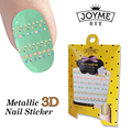 Hot Sexy Charm 3d Nail Art Stickers Tips Decal Tip Decoration Metallic Nail Stickers Nail Art Manicure Accessories High Quality