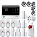 IOS Android APP Touch Screen G90B WIFI Wireless GSM Alarm System Security Home with Siren Door PIR Alarm Sensor