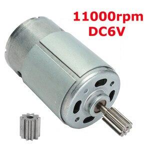 6V 11000RPM Electric Motor Gea