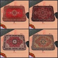 Mairuige 18*22/25*29 см коврик персидский ковер стиль резиновой противоскользящей ноутбук игры коврик для мыши для csgo dota2 мат