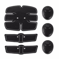 3 In 1 Smart Electric Pulse Abdominal Muscle Trainer Suit Health Care Massager Wireless Muscle Stimulator