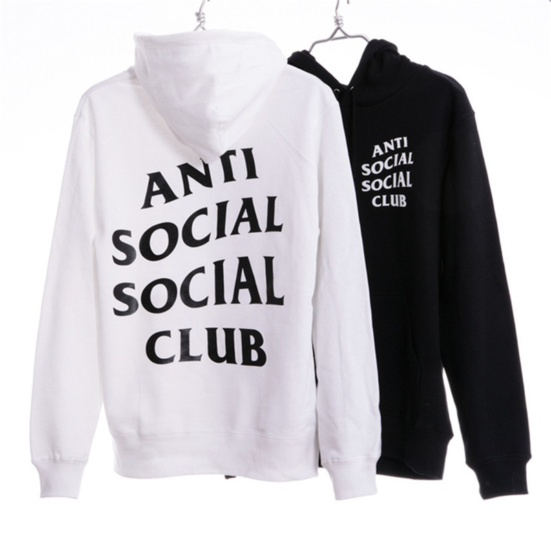 46bc07546e65 ANTI SOCIAL SOCIAL CLUB Hoodies Men Women 1 1 High Quality Hoodie Sweatshirt  ASSC Pullover ANTI SOCIAL SOCIAL CLUB Hoodies-in Hoodies   Sweatshirts from  ...
