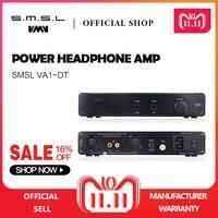 SMSL VA1 DT HIFI аудио Настольный усилитель для наушников AMP со сбалансированным Вход Fit DT880/990/K701/702 черный 110 В/220 В