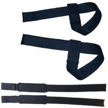 Weight Lifting Hand Wrist Bar Support Strap Brace Support Gym Straps Weight Lifting wrap Body Building Grip Glove 2PCS/Pair
