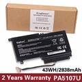 KingSener PA5107U PA5107U-1BRS Battery for Toshiba Satellite L45 L45D L50 S55 P55 L55 L55T P50 P50-A P55 S55-A-5275 S55-A5294