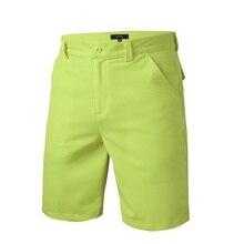 Classic-fit совершенные гольф-шорты передние стрейч плоским летние шорты мужские хлопок
