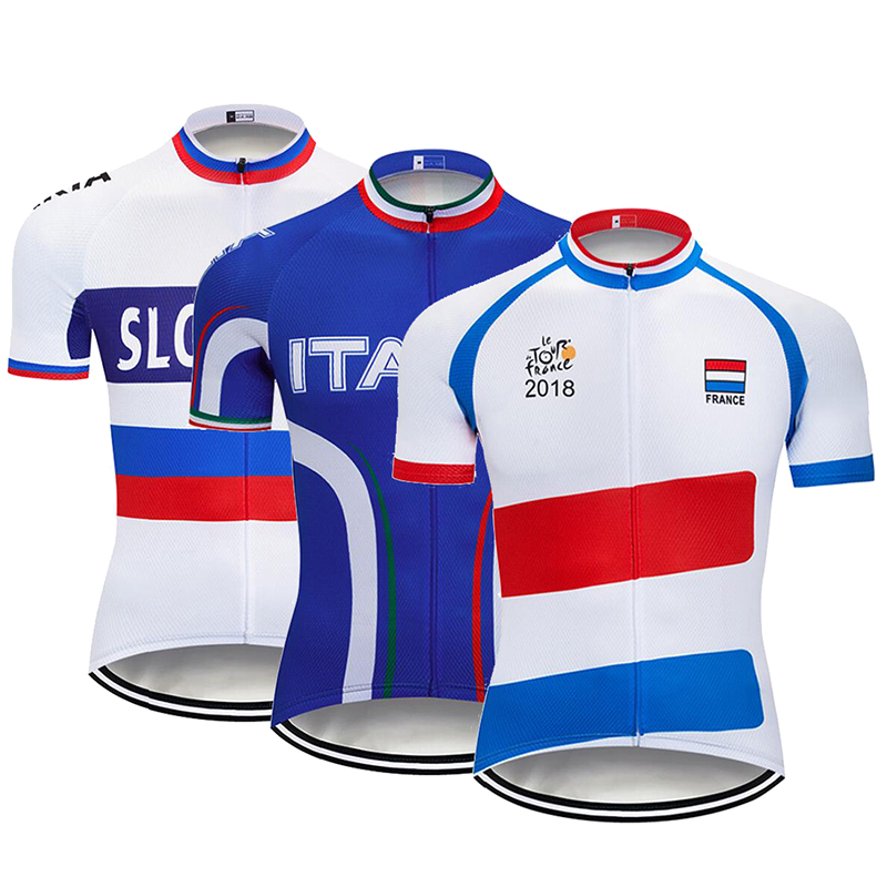 Detail Feedback Questions about Men s Team ITALIA SLOVAKIA Tour De France  Cycling Jersey Shirts Short Sleeve Quick Dry Summer MTB Bike Cycle Tops  Clothing ... c29c558c7