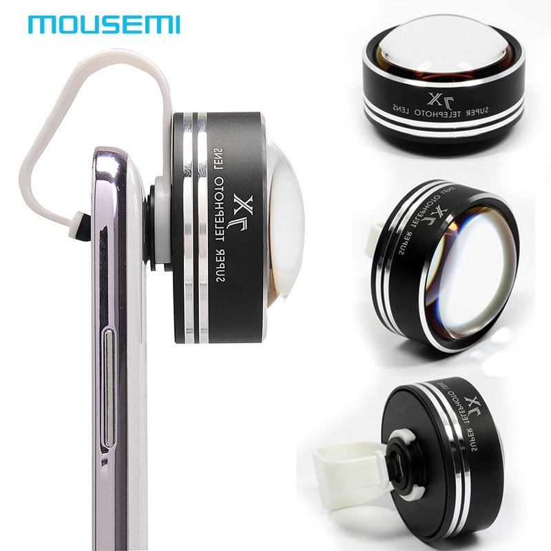 MOUSEMI Universal Fisheye Lens 7x Zoom Optical Lens Fish eye Photo Kit Set 7X Optical Camera Lens For iPhone Samsung Galaxy Lens