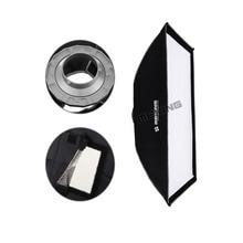 """50 см х 70 см/20 """"x 28"""" фотографические Складной Отражатель Softbox с Bowens Крепление для с сумкой для Флэш-Вспышки"""
