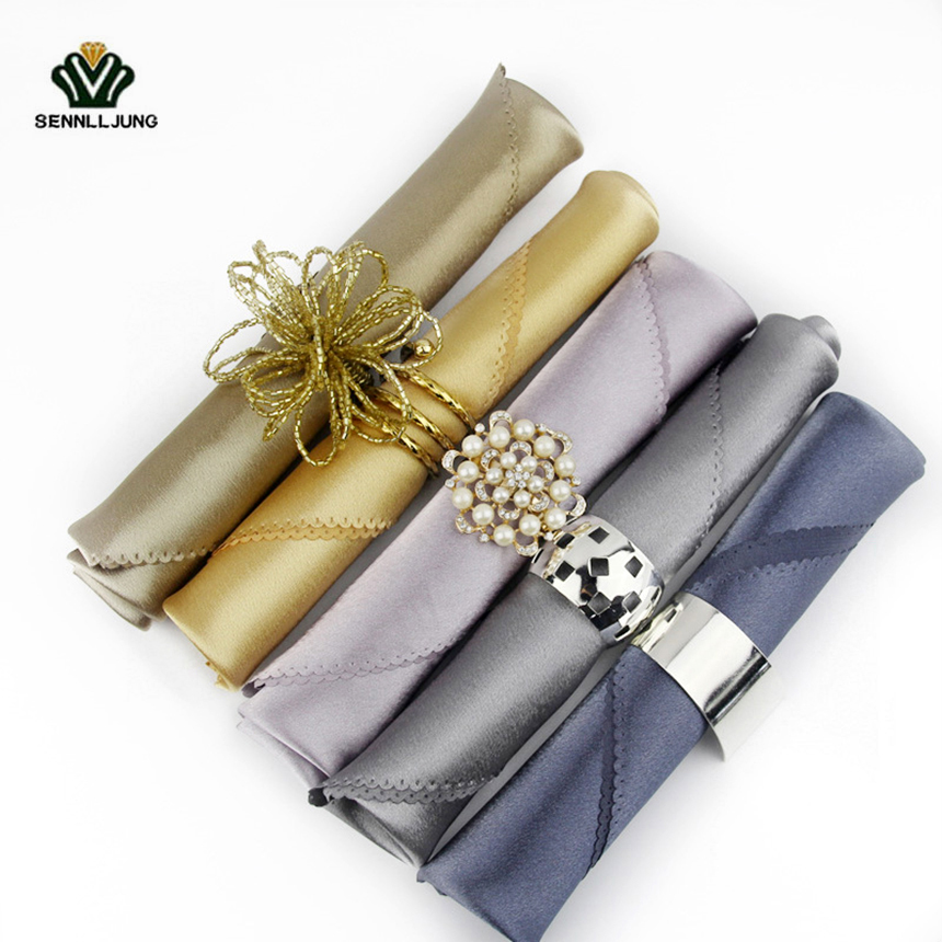 big napkin discount hotel plain napkin cloth western dinner table napkin linen 50x50 restaurant dinner table napkins decoration - Discount Table Linens