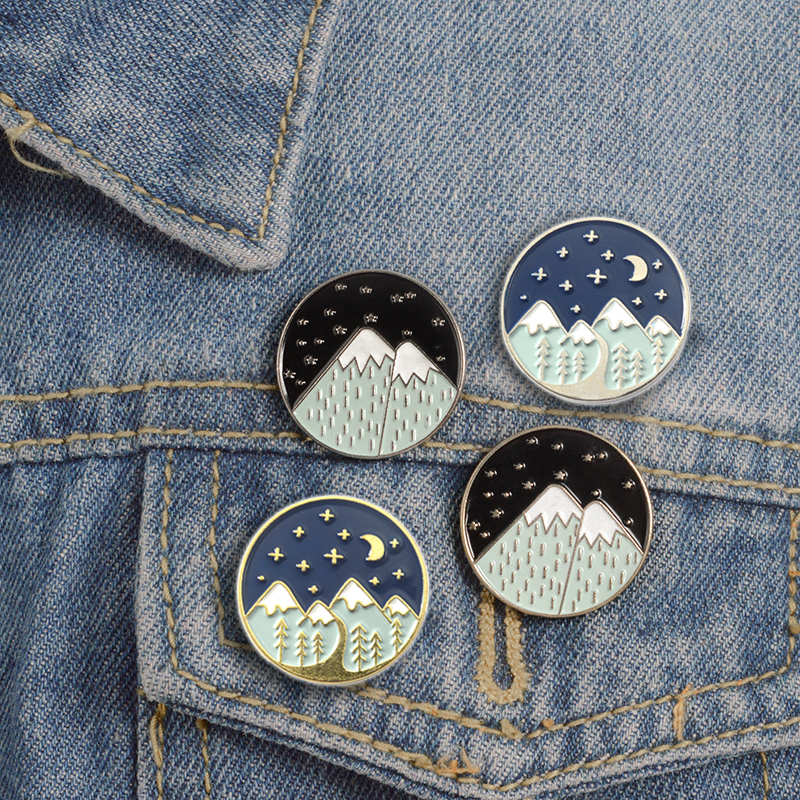 1 Pcs Cartoon Bicycle Wish Bottle Metal Brooch Button Pins Denim Jacket Pin Jewelry Decoration Badge For Clothes Lapel Pins Delicacies Loved By All Badges