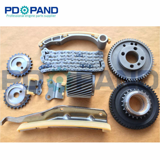 Diesel Parts 4M42 4M42T Engine Timing Chain Gear Tensioner Kit for  Mitsubishi FUSO 3 0TD 16V