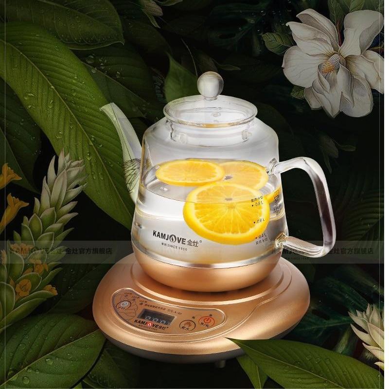 KAMJOVE electric teapot boiled tea electric kettle machine automatic boiling teapot Multi functional health preserv