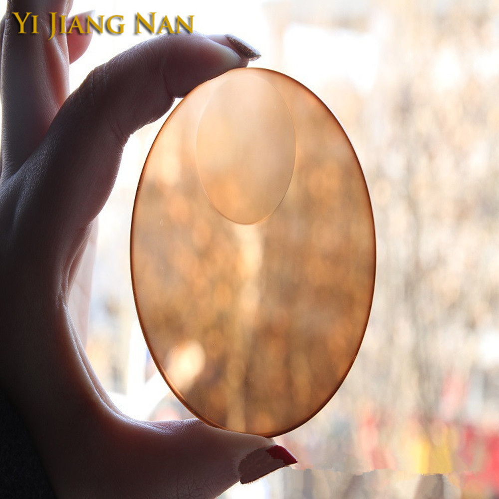 Yi Jiang Nan Brand 1.49 and 1.56 Index Photochromic Bifocal Tint Lenses Anti Glare Transition Lensses Round Top Bifocal Lenses