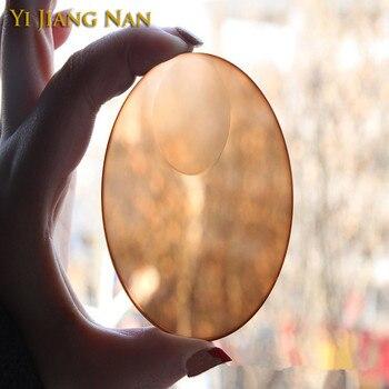 Yi Jiang Nan Brand 1.49 and 1.56 Index Photochromic Bifocal Tint Lenses Anti Glare Transition Lensses Round Top Bifocal Lenses