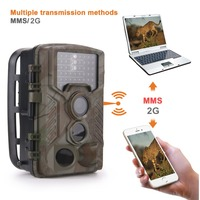 Hunting Camera MMS SMS GSM Email Infrared Transfer Photo Traps 1080P HD Wide Angle Motion Detection Hunting Trail Camera 16MP
