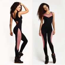 Women Yoga Sets Running Tight Jumpsuits Sports One Piece Sexy Leggings Gym Fitness Clothing Suit Sexy Overalls Bodysuit C1655