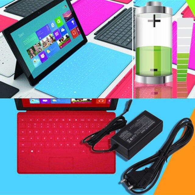 Novo 12 V 2.58A 36 W UE & Plug EUA Adaptador AC Carregador de Parede carregador fonte de alimentação para microsoft windows superfície pro 3 tablet atacado