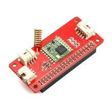 Elecrow lora rfm95 iot placa para raspberry pi 3 b 2 b + módulo de transporte sem fio rfm95 kit diy