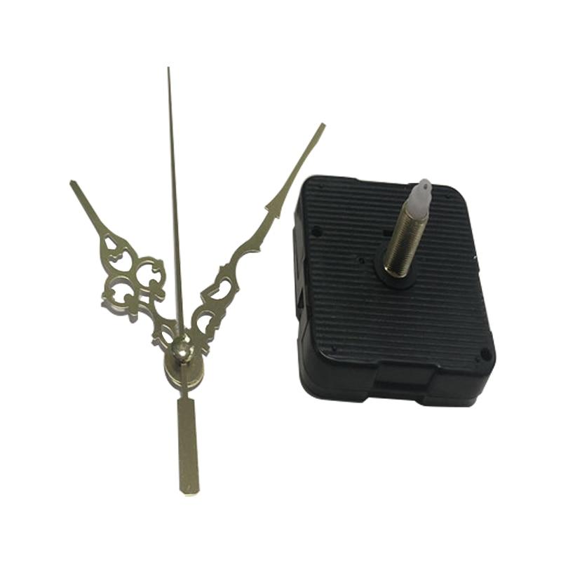 Metal Black Clock Pointer DIY Quartz Movement Hands Repair Kits Wall