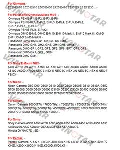 Image 5 - Удлинительное макрокольцо для M42 / Canon EOS / Nikon AI / SONY AF / NEX / Pentax PK / Olympus Pansonic Lumix M4/3 Micro 4/3