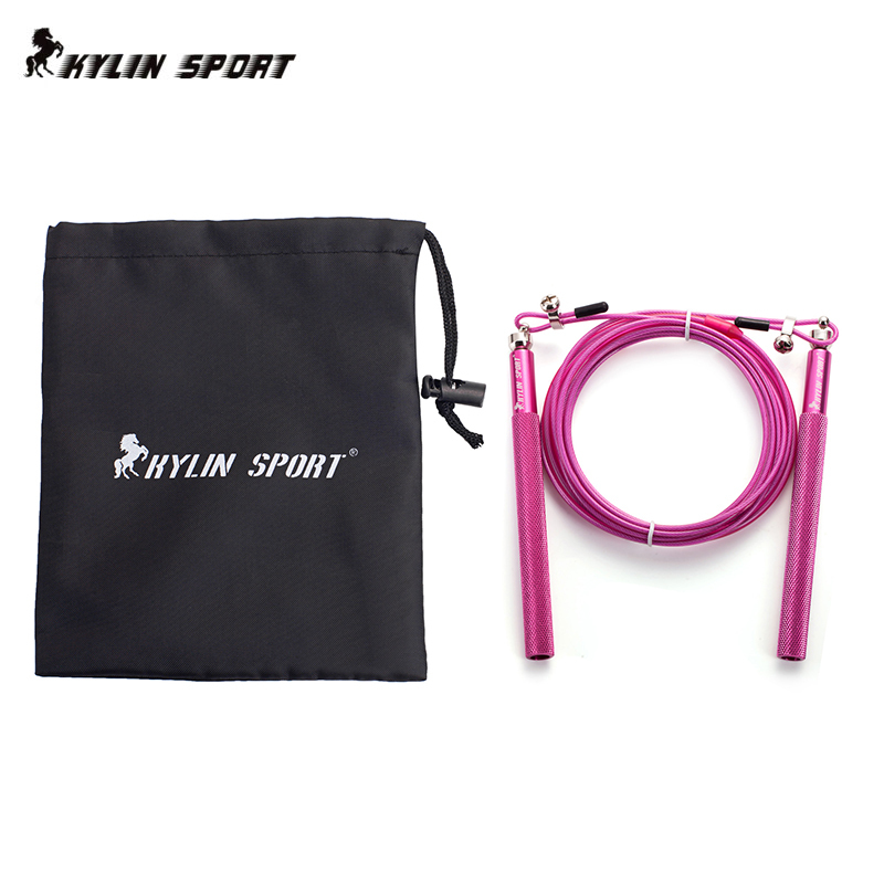 Speed ​​Rope / verstellbares Cross Fitness Speed ​​Springseil - Fitness und Bodybuilding - Foto 5