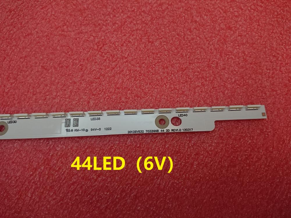 Image 4 - New 44LED*6V 406mm LED strip for samsung UA32ES5500 UE32ES6100 