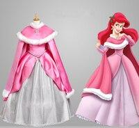 Disfraces Mermaid Tail Costume Cosplay For Grils Rapunzel Dress Adult Princess Belle Costumes For Kids Mermaid