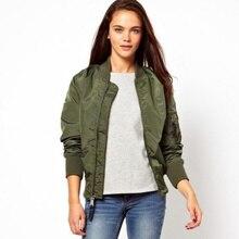 New Arrival 2017 Autumn and winter hot style fashion Round Neck parka soild color cotton Warm Slim  short coat jacket female