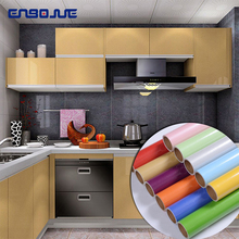 цена на Old Furniture Wall Stickers Refrigerator Door Frame Stickers Kitchen Cabinet Waterproof Film Self Adhesive Oil Proof Wallpaper