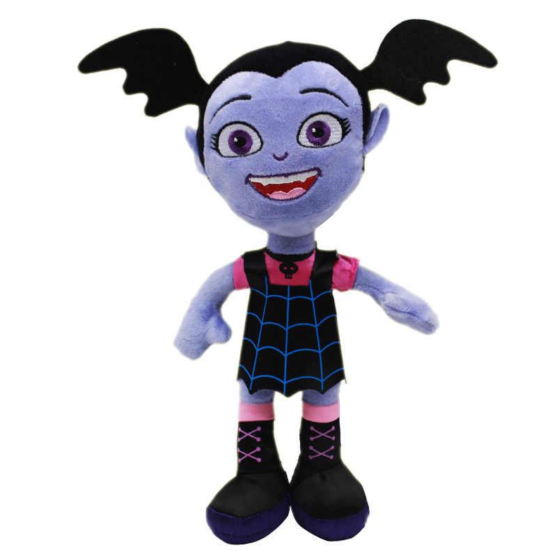 25cm Movie Junior Vampirina Plush Toys Doll The Vamp Batwoman Girl Plush Stuffed Toys Gifts for Children Kids Girls